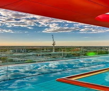 Enjoy Our Infinity Sky Pool Rooftop Garden Mini Golf